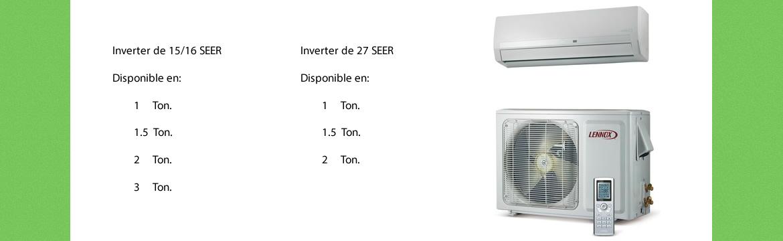187 Caracteristicas De Minisplit Inverter